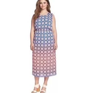 Vince camuto Moroccan mirage 2X maxi dress
